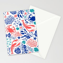 Lobsterland Stationery Cards
