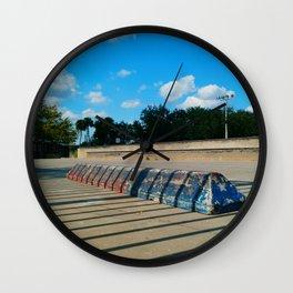 #SKATE PARC ORLANDO FLORIDA, USA by Jay Hops Wall Clock
