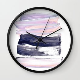 summer pastels Wall Clock