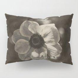 Anemone coronaria - Sepia Pillow Sham