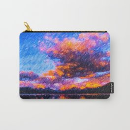 Lake McDonald in Glacier National Park Carry-All Pouch