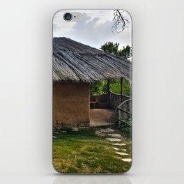 Clay House in Leshten, Bulgaria iPhone Skin