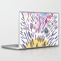 physics Laptop & iPad Skins featuring Quantum physics by Dreamy Me