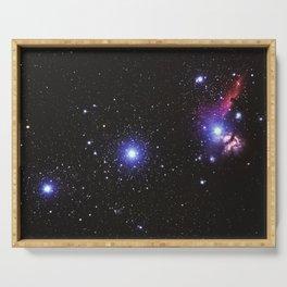 Beautiful Sky Galaxy Serving Tray