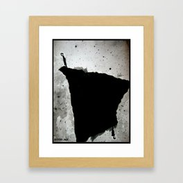 A Small World/The Edges and Horizons Framed Art Print