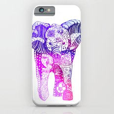 An Elephant Plays Soccer iPhone 6s Slim Case