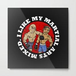 MMA Metal Print