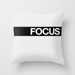 FOCUS STRIPE Throw Pillow
