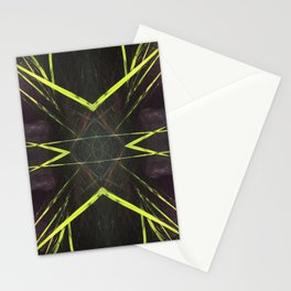 518 - Abstract grass design Stationery Cards