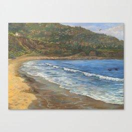 Torrance Beach to Palos Verdes Canvas Print