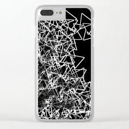 Oragami (triangular) Clear iPhone Case