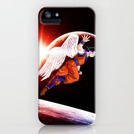 goku winged iPhone Case