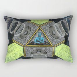 Vectron Equilibrius Rectangular Pillow