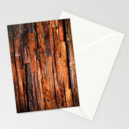 Beautifully Aged Wood Texture Stationery Cards