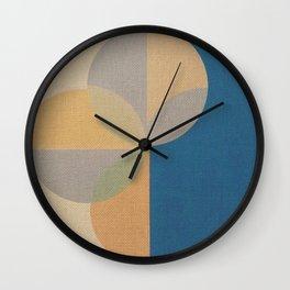 Jammed in Circles Wall Clock