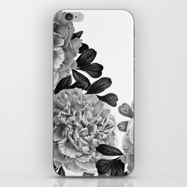 Flowers in the morning iPhone Skin