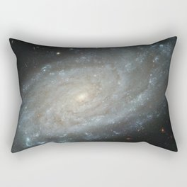 Spiral Galaxy, NGC 3370 Rectangular Pillow