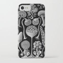 Slime Molds (Mycetozoa) by Ernst Haeckel iPhone Case