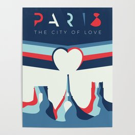 Paris: The City of Love Poster