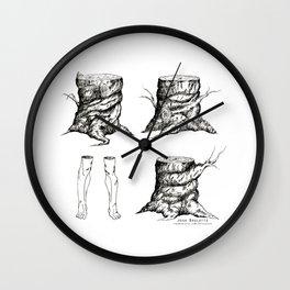 Stumped by Josh Brulotte Wall Clock