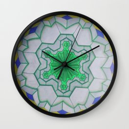 sacred geometry spiritual trip ZB Wall Clock