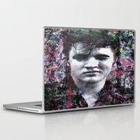 elvis Laptop & iPad Skins featuring ELVIS PRESLEY by Vonis