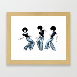 Love, Peace, and Soul Framed Art Print