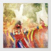 korean Canvas Prints featuring korean musicians by FarbCafé