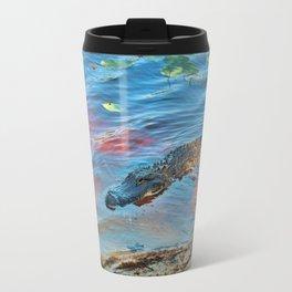 Good Morning Alligator Travel Mug