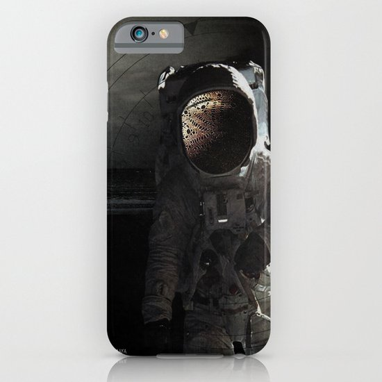 Sad story about a chimp in space iPhone & iPod Case