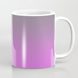 Gray and Pink Gradient Ombre Coffee Mug