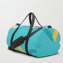 Teal Steps Duffle Bag