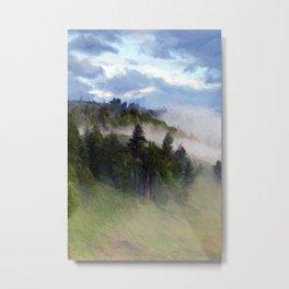 Morning Fog #2 Metal Print