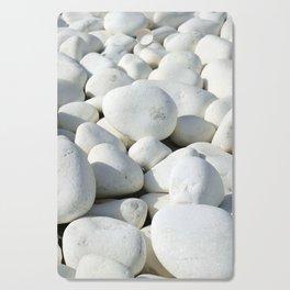 White stones Cutting Board