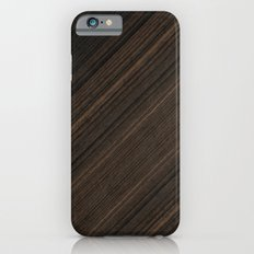 Ebony Macassar Wood Slim Case iPhone 6s