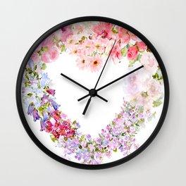 Heart Full of Love Wall Clock