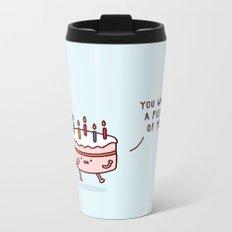 Cake Metal Travel Mug