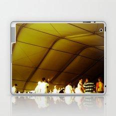Golden Glimmer Laptop & iPad Skin