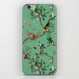 Monkey World Green iPhone Skin