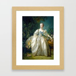 Madame Bergeret Framed Art Print
