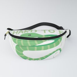 Snake Pet   Reptile Serpent Pets Python Gift Ideas Fanny Pack