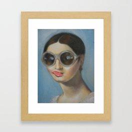 Mademoiselle Riviere Framed Art Print