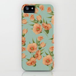 The Earth Laughs in Flowers iPhone Case