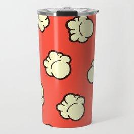Popcorn Pattern Travel Mug