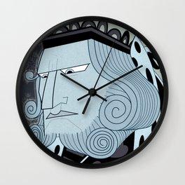 Big Trouble In Wonderland Wall Clock