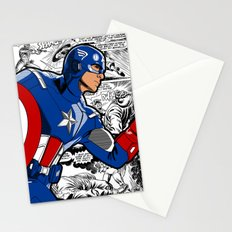 Captain 'merica Comic Stationery Cards