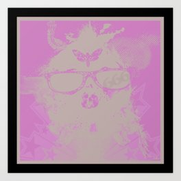 Cuz Im A Boss Art Print