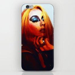 Rainbow Bowie  iPhone Skin