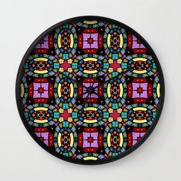 Pattern 201 Wall Clock
