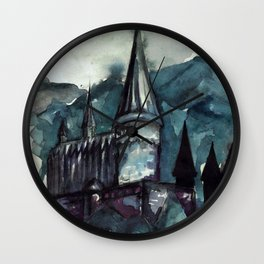 Forgotten Castle Wall Clock